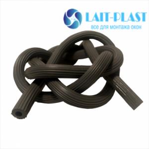 Купить шнур москитной сетки серый 4,5 - 5мм