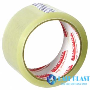 Купить скотч упаковочный прозрачный Remontix 50 мм х 66 м