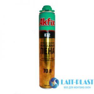 Купить монтажная пена Akfix 70 лето