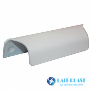 Купить ручка балконная металл (белая)