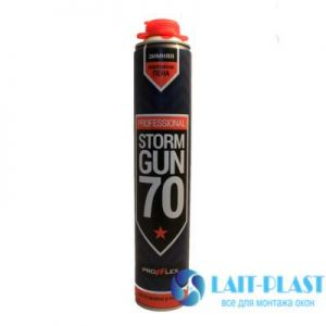 Купить монтажная пена Profflex Storm Gun 70 зима